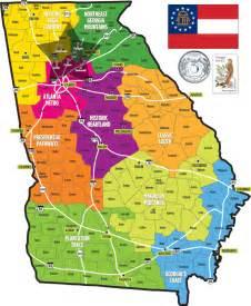 Georgia Map State by Georgia State Map John Welch Georgia Real Estate