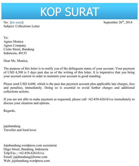 contoh surat untuk the knownledge