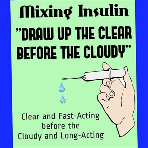 clear b4 cloudy insulin meme nursing pinterest meme