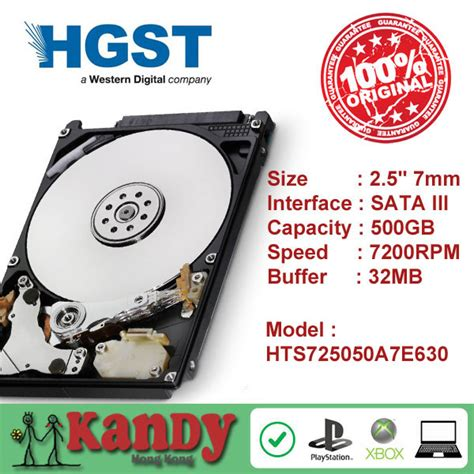Hdd Hgst Laptop 2 5 Sata 500gb travelstar drive promotion shop for promotional
