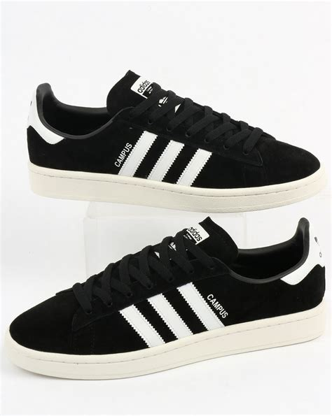 adidas cus trainers black white originals suede shoes mens