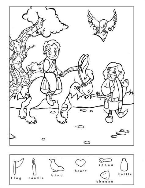 good samaritan coloring page printable good samaritan 9 other bible story hidden puzzles