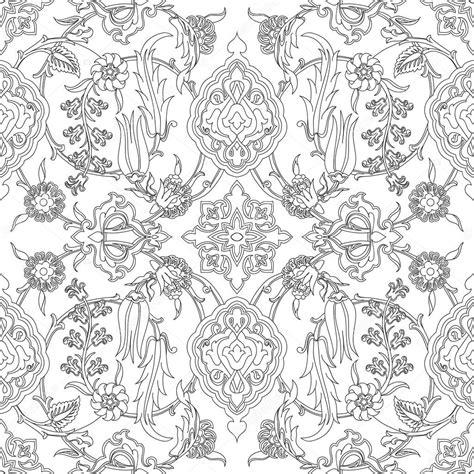 tile pattern ancient temple kotor ベクトル タイル オリエンタル花柄シームレスな落書き 民族のアラビア語パターン花古代 アラベスク カール花柄タイル