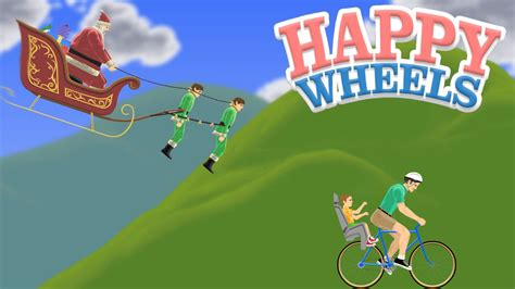 happy wheels full version santa happy wheels no santa youtube