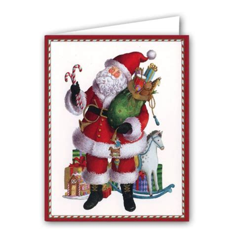fashion santa boxed cards paperstyle