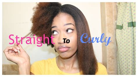 How To Make Type 4c Hair Curly by Me Go From To Curly 4c Hair