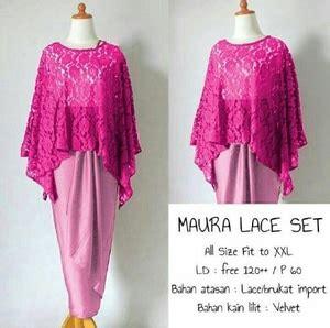 Kebaya Pink Lilit Kebaya Batik model setelan baju kebaya brukat lace modern terbaru dan