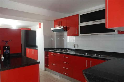 red kitchen white cabinets pictures of kitchens with white cabinets and red walls
