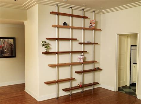 Custom Racking by Custom Oak And Aluminum Adjustable Shelving Unit By Anand