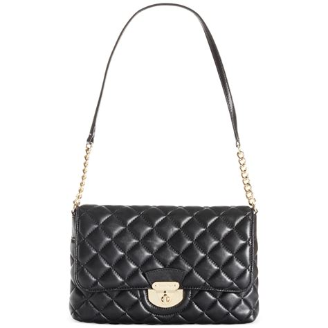 Ck All Day Bag calvin klein quilted shoulder bag in black black