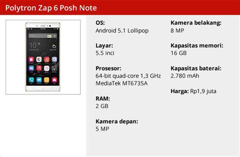 Antigores Glare Polytron Zap6 smartphone 4g polytron zap 6 resmi diluncurkan