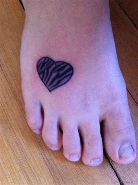 blue heart tattoo 57 fabulous tattoos on foot