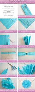 How To Make Tissue Paper Pom - how to make tissue paper pom poms cookie jar