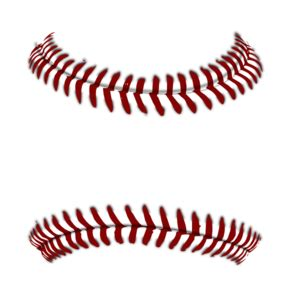 Baseball seams clipart clipartfest