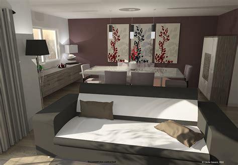 3d projet deco simulation 3d de salons contemporains