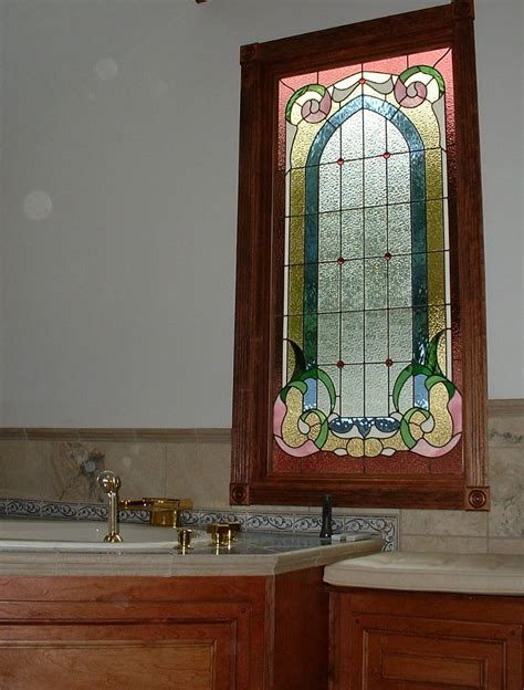 stained glass window bathroom accessories magnificent ideas for home makeover with