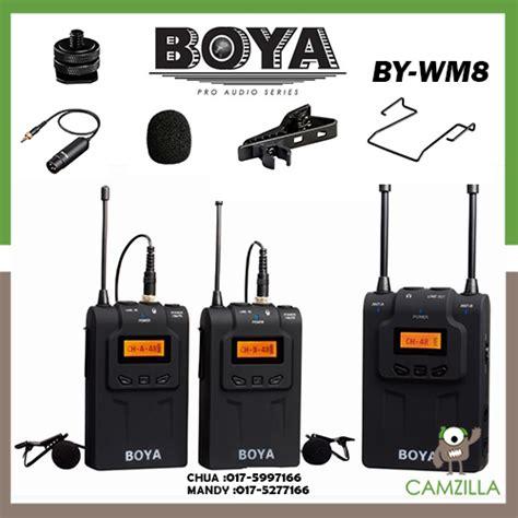 Lcd Wm8 boya by wm8 uhf dual channel wireles end 6 13 2018 5 15 pm