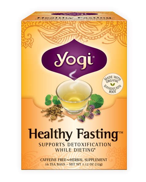 Yogi Detox Tea Healthy Cleansing Formula by Health Food Specialists Brands Products Yogi Teas Detox Energy