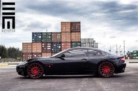 gran turismo maserati red here s what quot too big quot looks like on a maserati granturismo