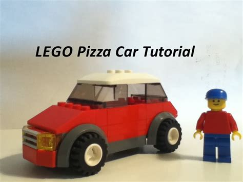 lego vehicle tutorial lego pizza car with trunk tutorial youtube
