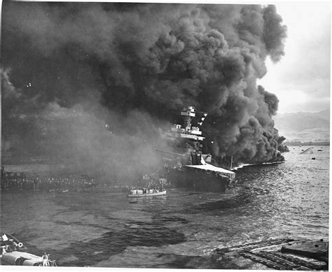 Pictures From Pearl Harbor Attack | file naval photograph documenting the japanese attack on