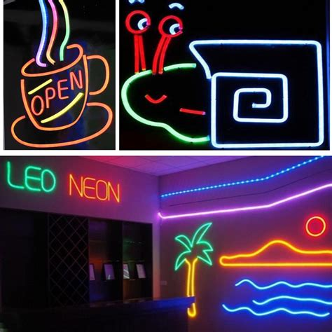 neon lights for home use 50ft led flex neon light in outdoor valentine xmas