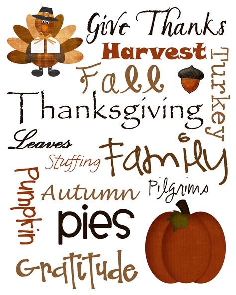 printable art for thanksgiving thanksgiving quotes clip art quotesgram