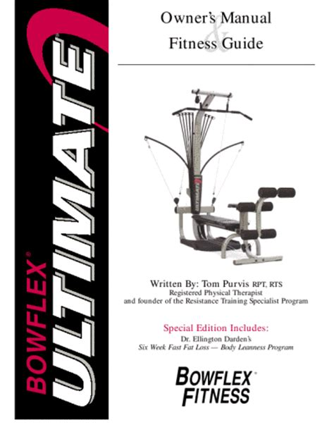 bowflex power pro xtl owners manual website of lenetray
