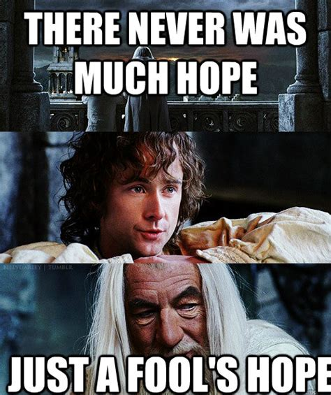 Hope Meme - there never was much hope just a fool s hope misc