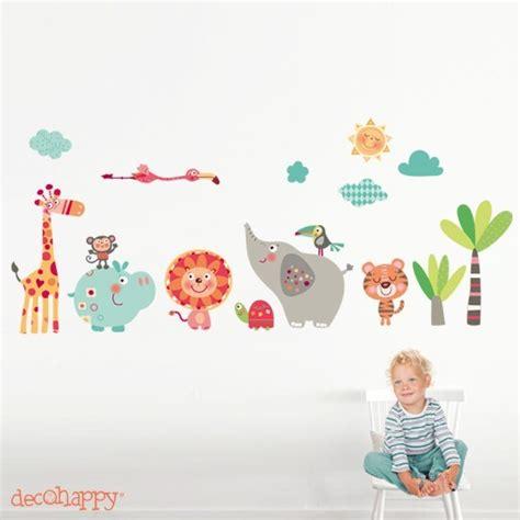 imagenes originales de animales vinilo infantil animales selva decohappy venta online