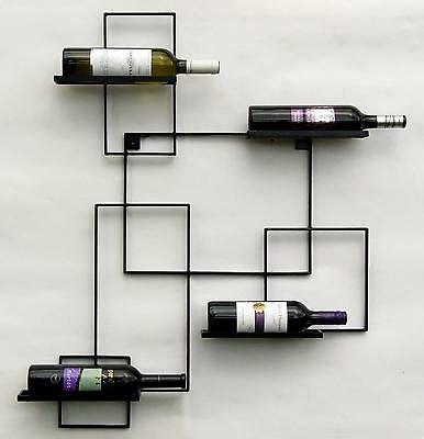 mensole porta bottiglie portabottiglie quot black line quot porta bottiglie metallo