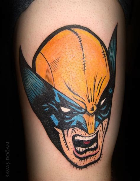 marvel tattoos wolverine by moviemetal3 tattoos