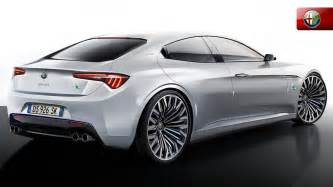 Alfa Romeo Sedan New Alfa Romeo Sedan Arriving In Us In Q1 2016 Tipped To