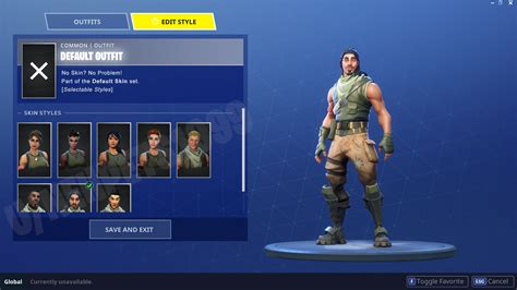 fortnite default skin fortnite fan creates concept to allow players to choose