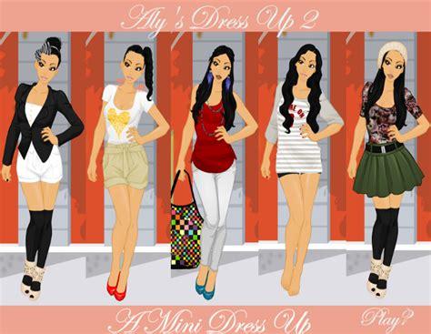 dress up aly s dress up 2 by shidabeeda on deviantart