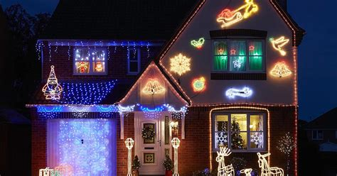 outside christmas lights b and q decoratingspecial com