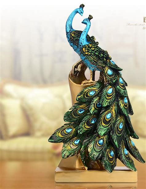 silk peacock home decor online buy wholesale artificial peacock birds from china artificial peacock birds wholesalers