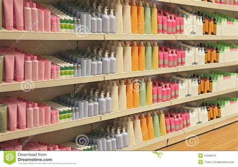 retail store cosmetic shelves stock photo image 41656415