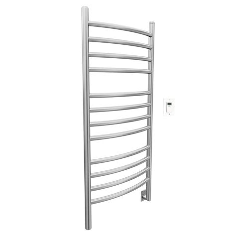 Towel Rack Warmer by Ancona Svelte Rounded 40 In Hardwired Electric Towel