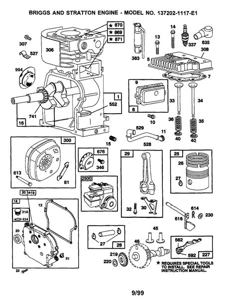 briggs and stratton engine diagram free briggs and stratton wiring diagram 5 hp best of beautiful