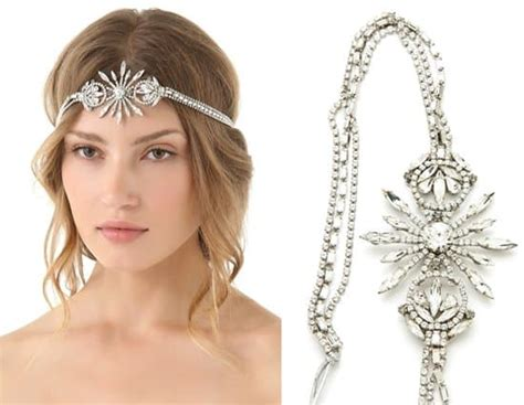Would You Wear This Erickson Beamon Headband by Bejeweled Flapper Headbands And Other Hair Accessories