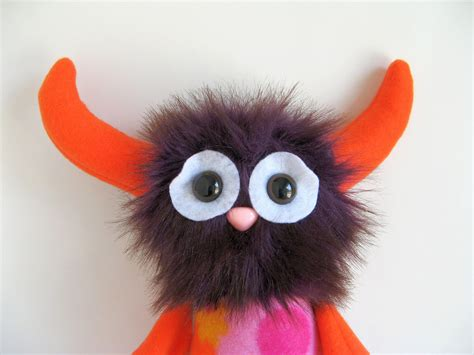 Handmade Stuffed Animals For Sale - monsters handmade stuffed animal dolls by fluffy