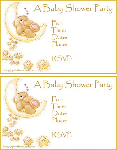 Free Baby Shower Card Template by Free Baby Shower Invitations Free Printable Invitations