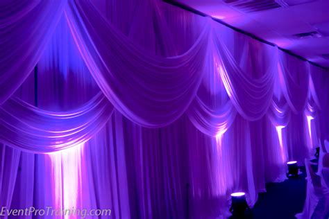 how to drape walls draping for weddings and events portland wedding lights