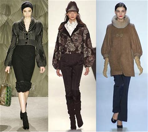Runaway Fall 2008 Trends by Fall 2008 Fashion Week Trend Bishop Sleeves Omiru