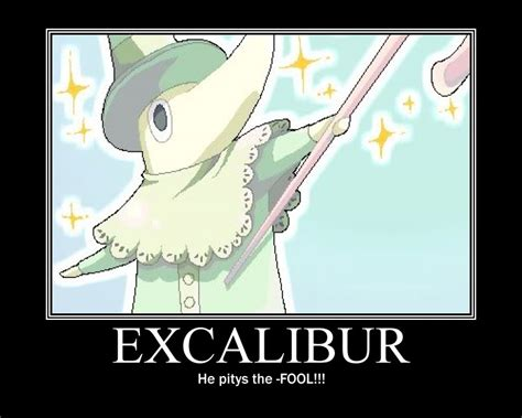 Soul Eater Excalibur Meme - excalibur random photo 25491890 fanpop