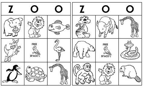 printable zoo animal bingo cards zoo bingo pictures to pin on pinterest pinsdaddy