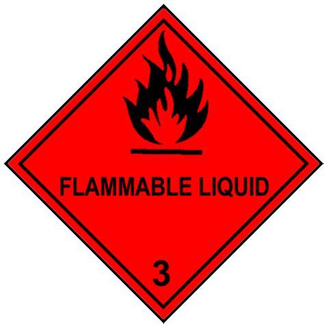 printable hazard label flammable liquid 3 vector clipart best