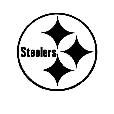 pittsburgh steelers logo coloring page sketch coloring page