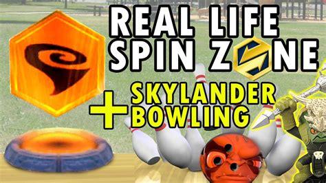 Kaos Real Zone 2 voodood saves skylanders in real spin zone